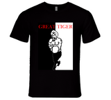 Great Tiger Mike Tyson's Punch Out Scarface Style Boxing T Shirt