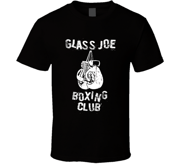 Glass Joe Punchout Boxing Club T Shirt