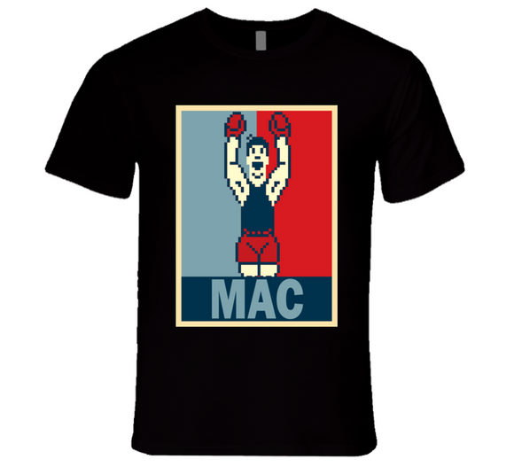 Little Mac  Hope Mike Tyson's Punch Out Retro Video Game Boxing T Shirt