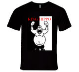 King Hippo Punch Out Scarface Style Boxing T Shirt
