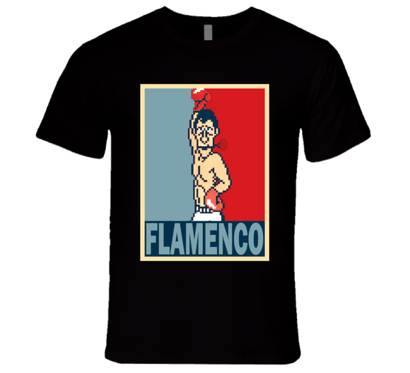 Don Flamenco Hope Punch Out Retro Video Game Boxing T Shirt