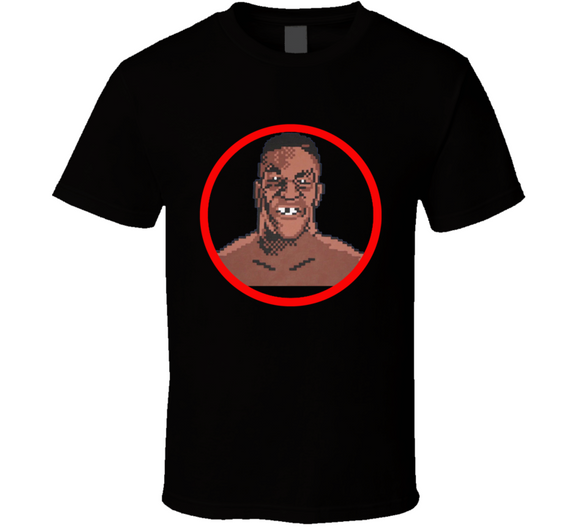 Mike Tyson Punch Out Champion Boxing Video Game T Shirt