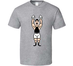 Little Mac 8 Bit Mike Tyson's Punch Out Boxing Video Game T Shirt