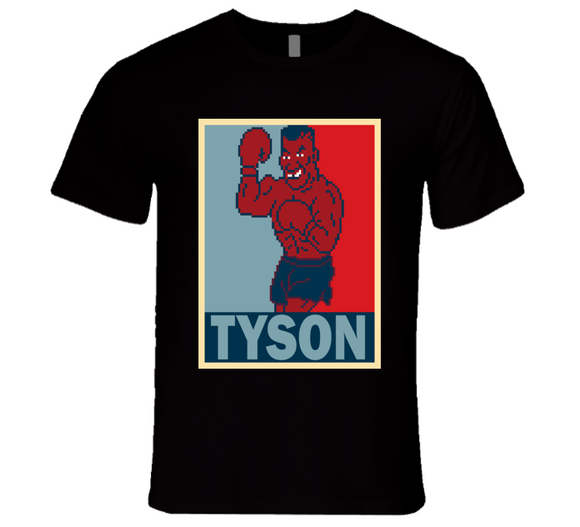 Mike Tyson  Hope Mike Tyson's Punch Out Retro Video Game Boxing T Shirt