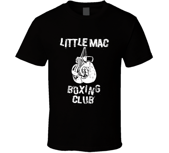 Little Mac Mike Tyson's Punchout Boxing Club T Shirt