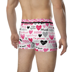 Kiss Me - Crazy Ass Undies - Men's Boxer Briefs