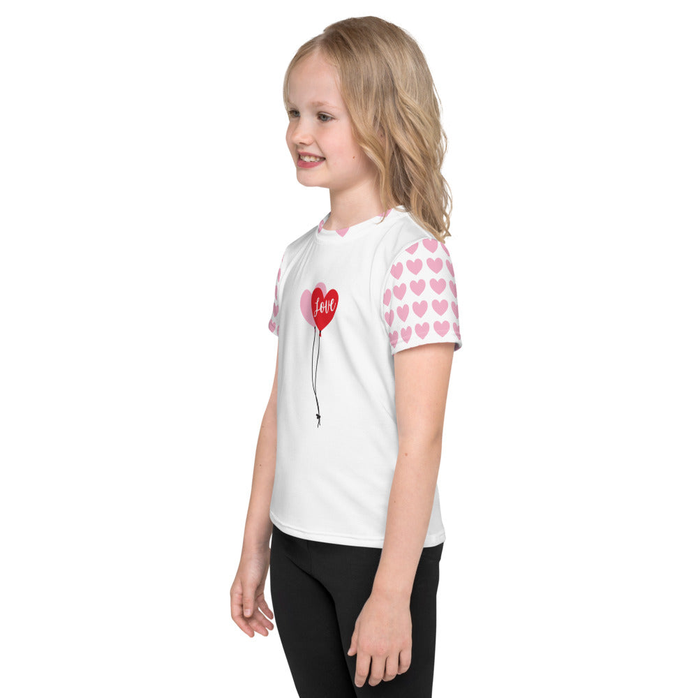 Love Balloons - Valentine's Day - Kids T-Shirt