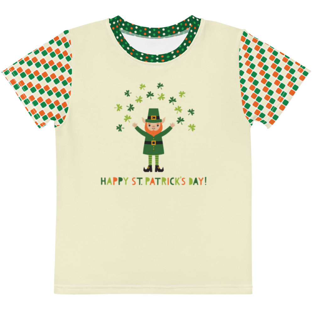 Happy St. Patrick's Day - Kids crew neck t-shirt