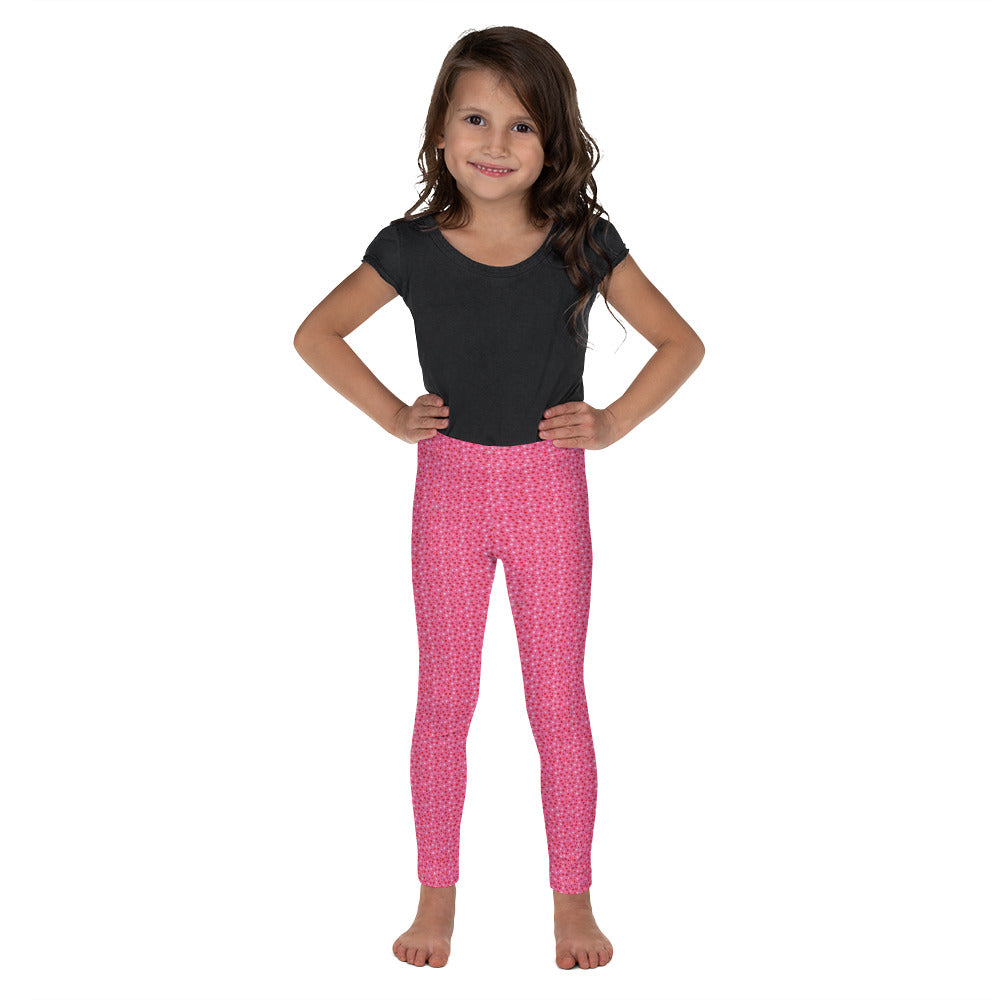 """I Love You Like Crazy"" Hearts Pattern - Valentine's Day - Kid's Leggings"