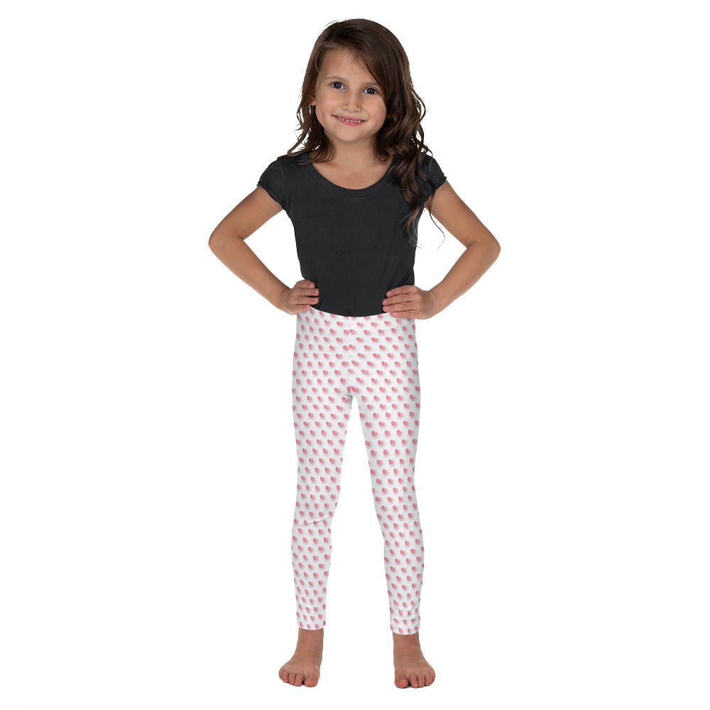 Pink Paper Hearts - Valentine's Day - Kid's Leggings