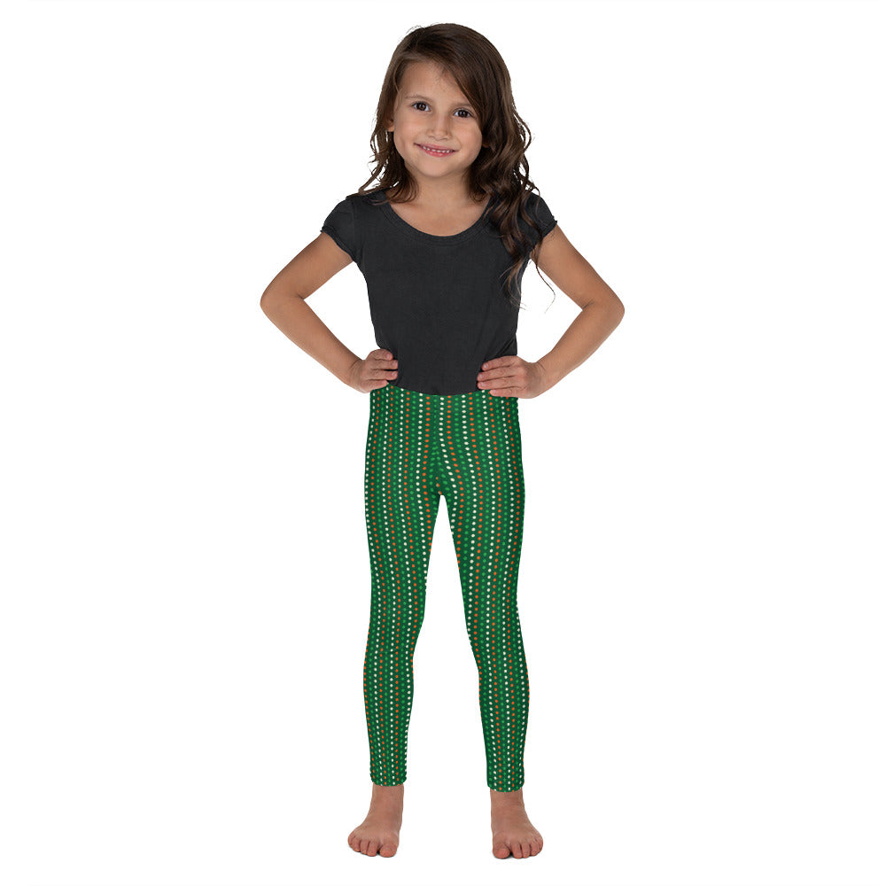 St. Patricks Day Dots - Kid's Leggings