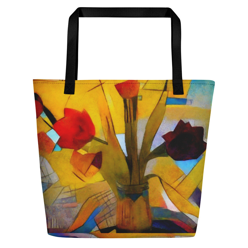 Bright Abstract - Beach Bag