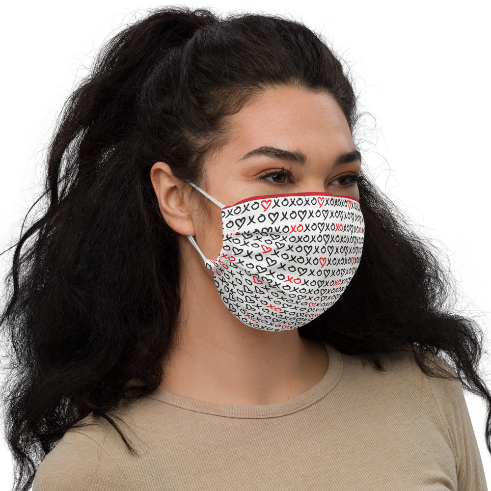 XOXO - Valentine's Day - Premium Face Mask