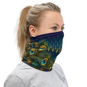 Peacock - Neck Gaiter, Face Covering, Headband and More