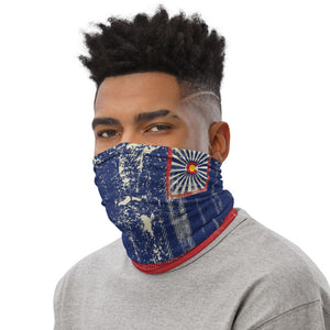 Colorado Flag Grunge - Neck Gaiter, Fask Covering, Face Mask