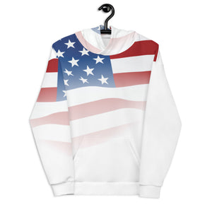 Crazy-Ass Leggings - Star Spangled Unisex Hoodie