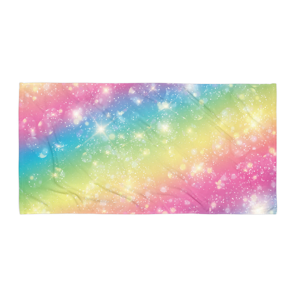 Sparkly Rainbow - Towel