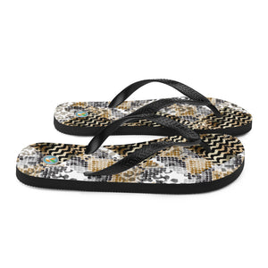 Reptile Patterns - Flip-Flops
