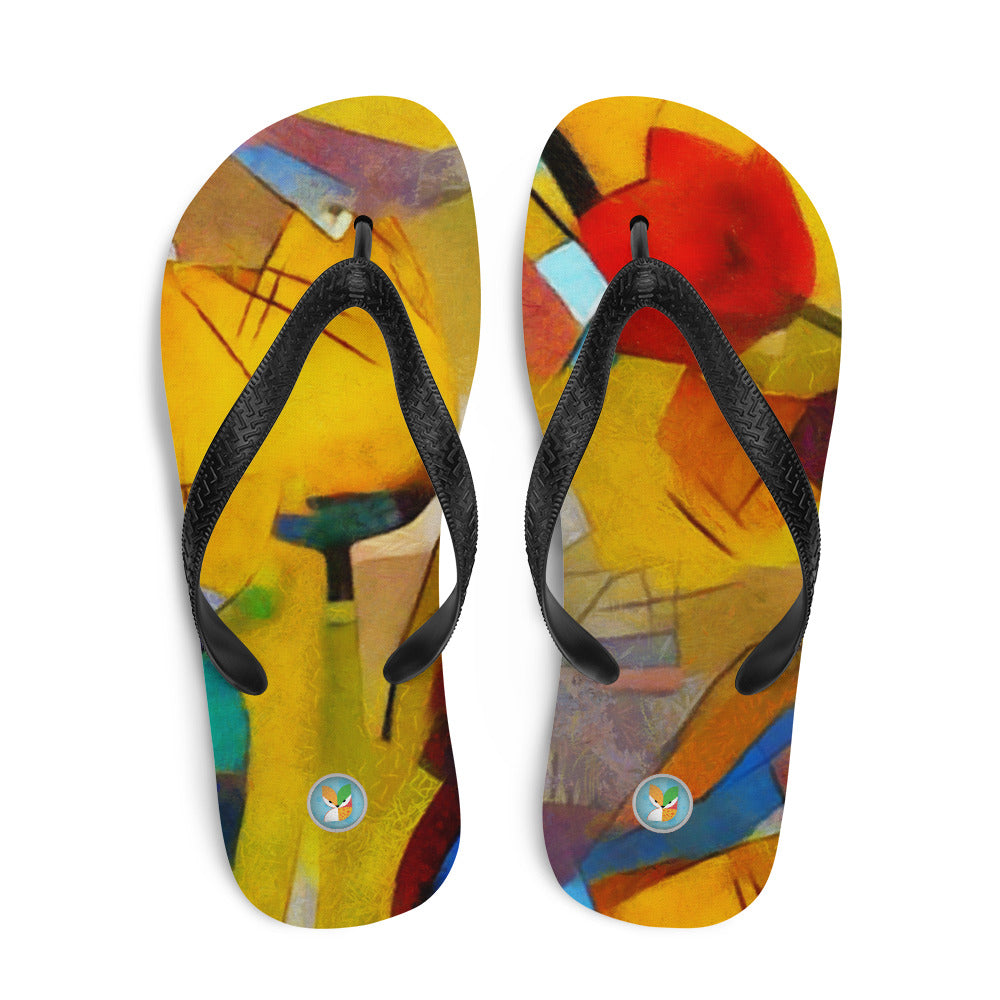 Bright Abstract - Flip-Flops