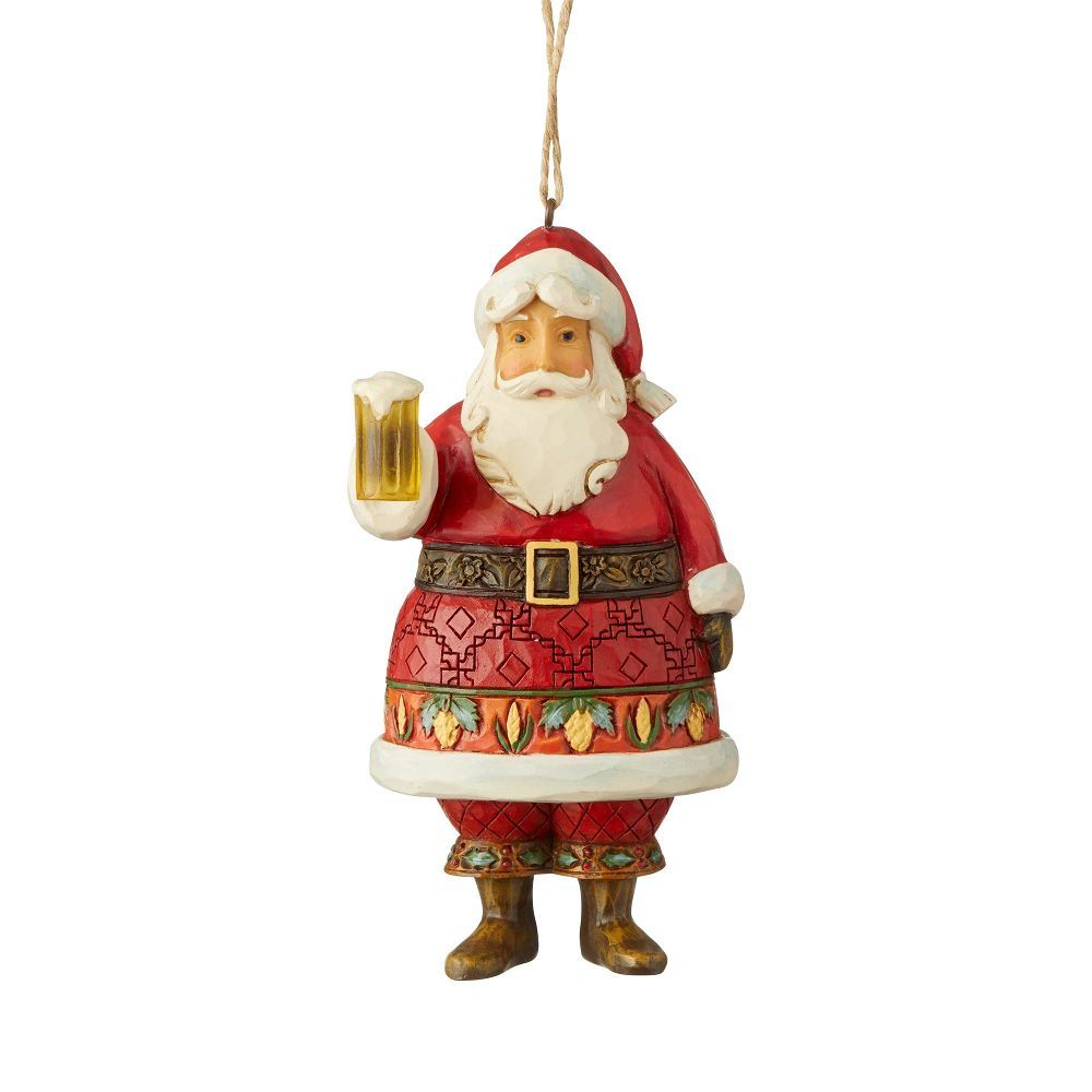 JS Craft Beer Santa Orn