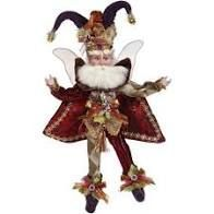 "COURT JESTER FAIRY- Small (10"")"