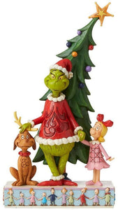 JS Grinch, Max & Cindy by Tree