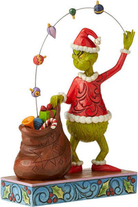 JS Grinch Juggling into Bag