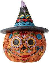 Load image into Gallery viewer, JS Day of the Dead Pumpkin
