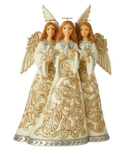 JS Holiday Lustre Trio of Angel