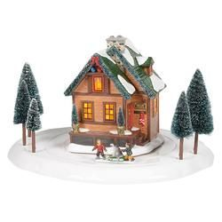 Winter Wonderland Cabin Set 3