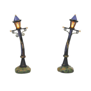 Purple Night Lights Set of 2