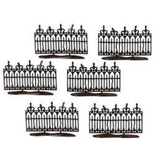Load image into Gallery viewer, Spooky Wrought Iron Fence S/6
