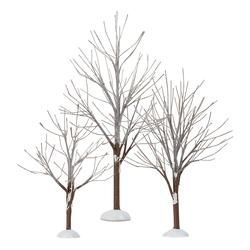 First Frost Trees - Set of 3