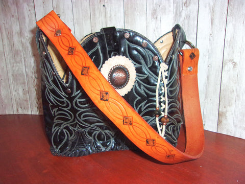 cowboy boot purses, custom made purses, custom made western handbags