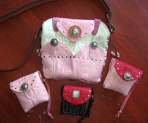 cowboy boot purses, custom purses made from cowboy boots, custom western handbags