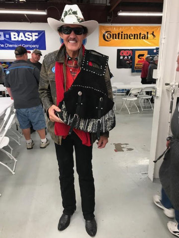 richard petty custom made saddlebags, custom made handbags, cowboy boot purses