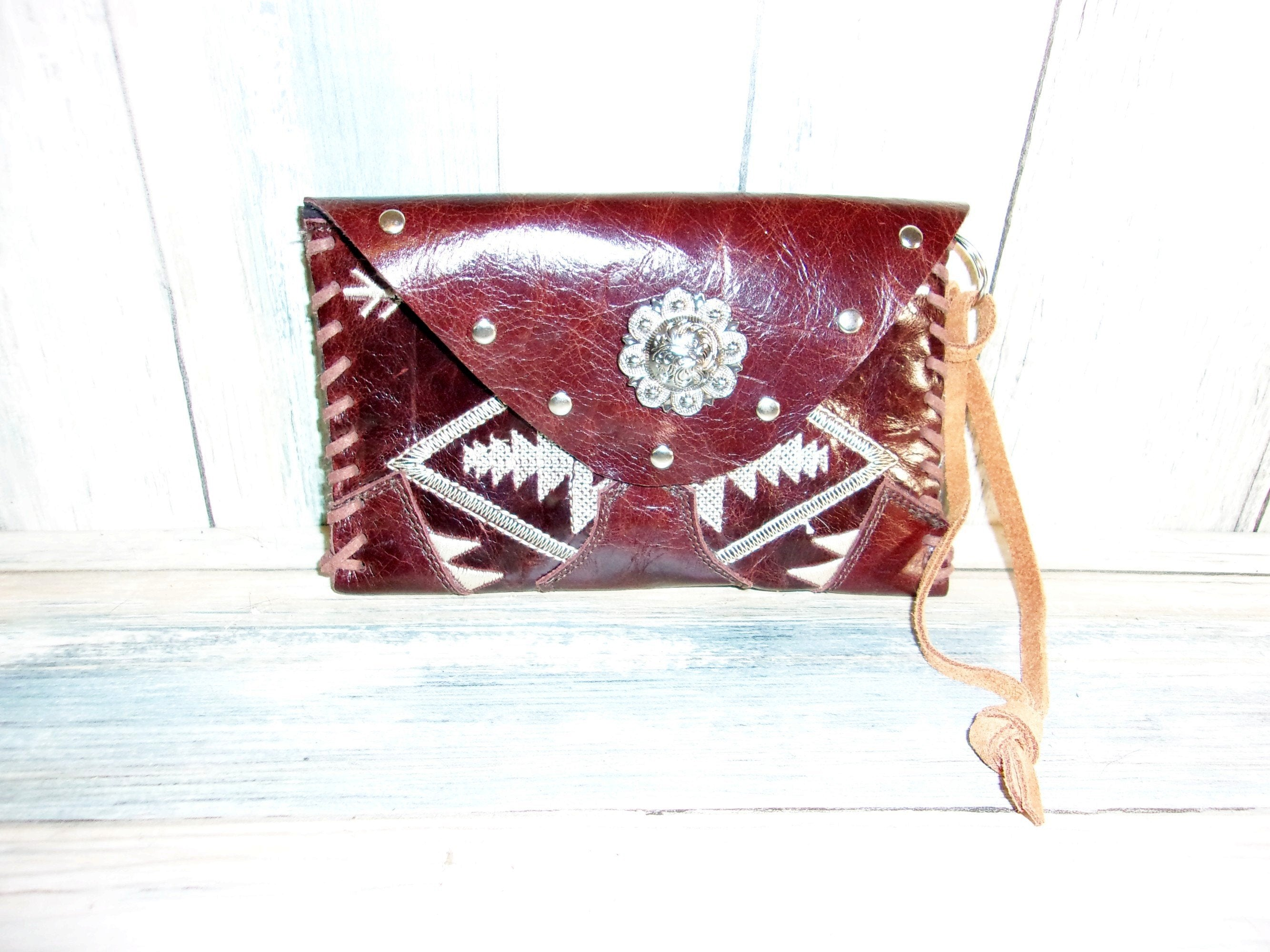 Cowboy Boot Wristlet WR06 - Distinctive Western Handbags, Purses and Totes