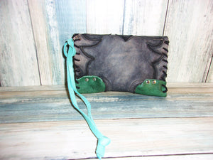 Cowboy Boot Wristlet WR08 - Distinctive Western Handbags, Purses and Totes