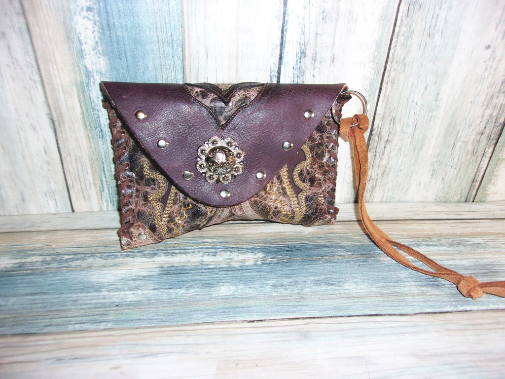 Cowboy Boot Wristlet WR12 - Distinctive Western Handbags, Purses and Totes