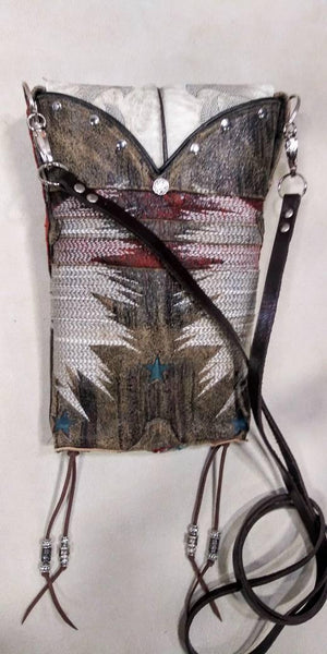 Hipster Cross-Body Cowboy Boot Purse HP757 - handcrafted handbags - cowboy boot purses - western purses - western handbags - western conceal carry purses - unique swing arm bags - Chris Thompson Bags