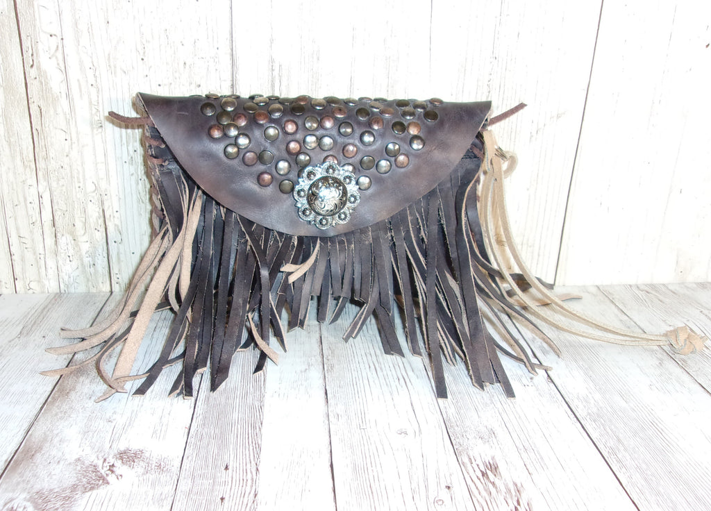 Leather Wristlet - Cowboy Boot Wallet - Handcrafted Leather Wristlet  WR32 cowboy boot purses and handcrafted western purses and handbags Chris Thompson Bags