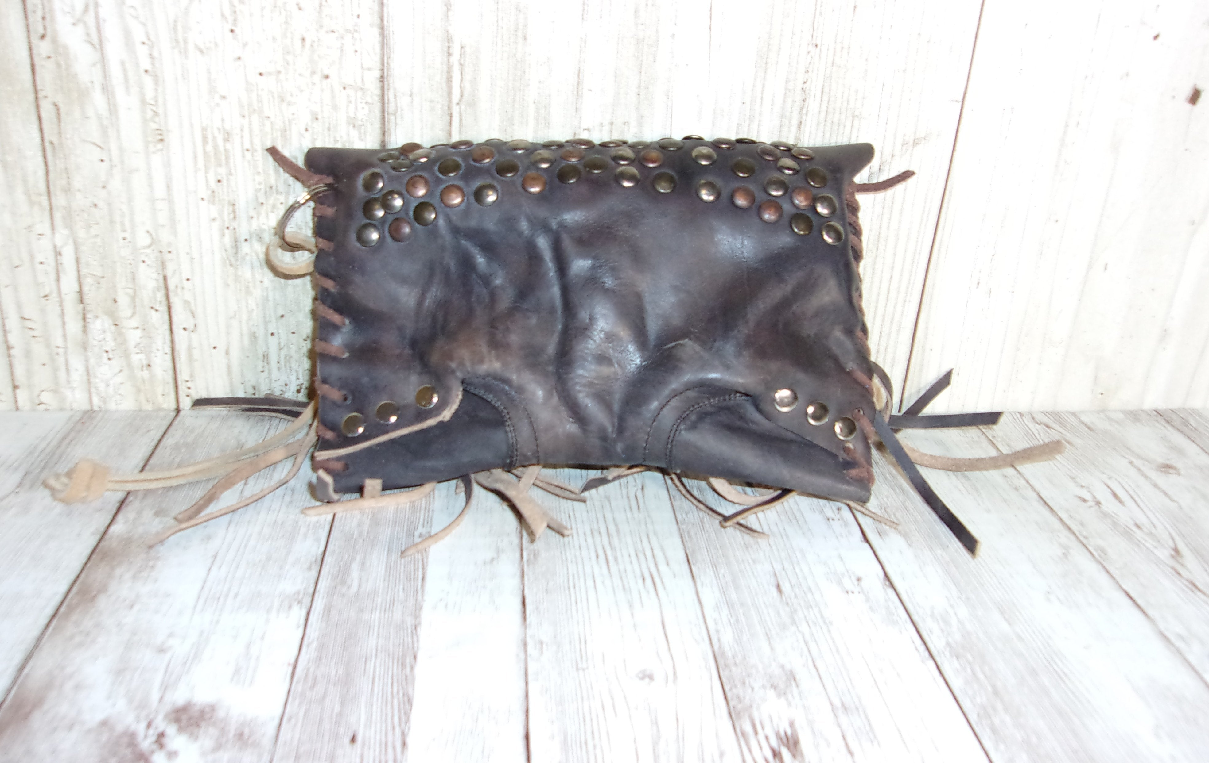 Leather Wristlet Cowboy Boot Wallet  WR32 - Chris Thompson Bags