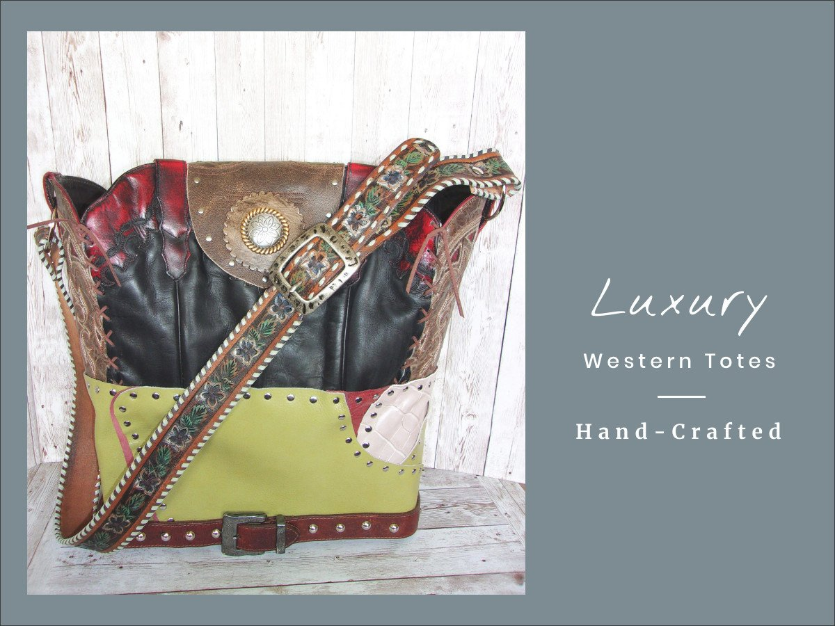 Unique Handcrafted Western Bags from $329 - Distinctive Western Handbags, Purses and Totes