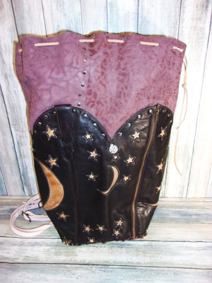 Moon n Stars Backpack - Distinctive Western Handbags, Purses and Totes