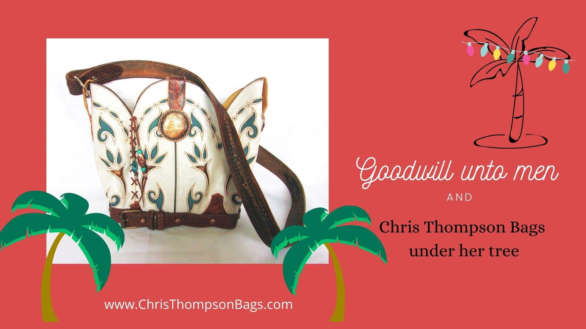Hand-Crafted Handbags and Totes made from Cowboy Boots cowboy boot purses, western fringe purse, handmade leather purses, boot purse, handmade western purse, custom leather handbags Chris Thompson Bags