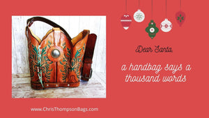 Hand-Crafted Handbags and Totes made from Cowboy Boots