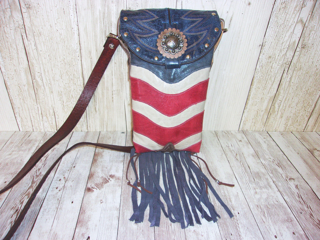 Western Concealed Carry Purse - CC Purse - Western Gun Purse - Crossbody Conceal Carry Purse CB90 cowboy boot purses, western fringe purse, handmade leather purses, boot purse, handmade western purse, custom leather handbags Chris Thompson Bags