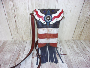 Western Concealed Carry Purse - CC Purse - Western Gun Purse - Crossbody Conceal Carry Purse CB95 cowboy boot purses, western fringe purse, handmade leather purses, boot purse, handmade western purse, custom leather handbags Chris Thompson Bags