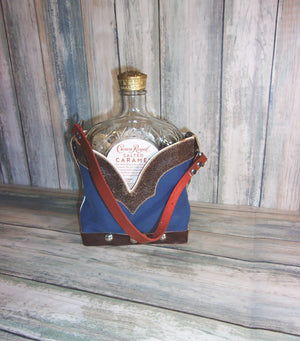 Leather Whiskey Tote CR81 - Distinctive Western Handbags, Purses and Totes