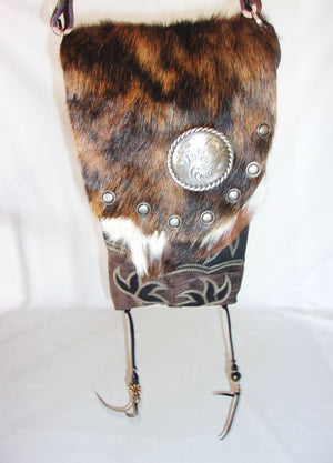 Hair on Hide Bag HH04 - Cowboy Boot Purses by Chris Thompson for Distinctive Western Fashion